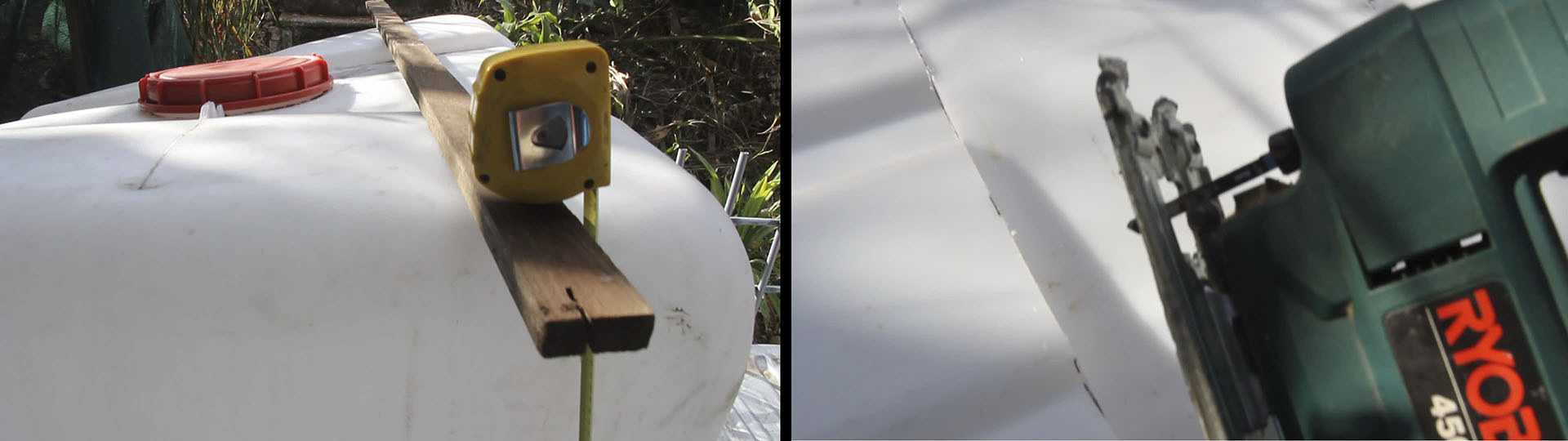 How To Build A Wicking Garden Bed using an IBC / Tote